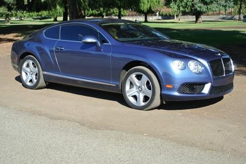 2013 Bentley Continental GT V8 for sale in Van Nuys CA