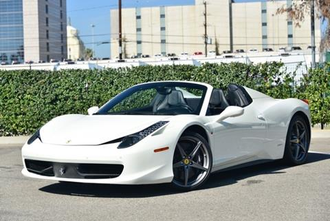 Ferrari 458 Spider For Sale - Carsforsale.com