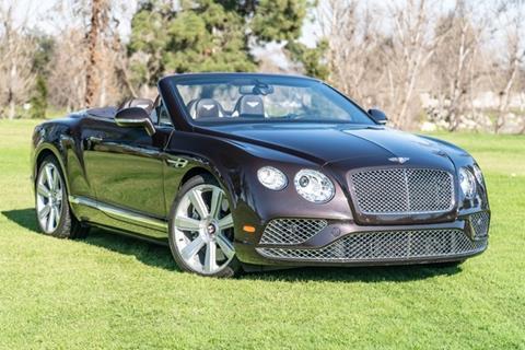 2016 Bentley Continental for sale in Van Nuys, CA