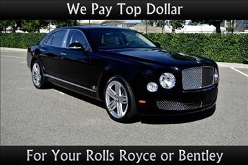 2012 Bentley Mulsanne for sale in Van Nuys, CA