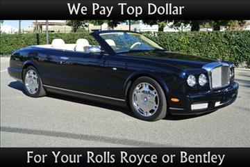 2009 Bentley Azure for sale in Van Nuys, CA