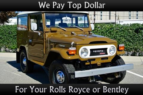 1975 Toyota Land Cruiser for sale in Van Nuys CA