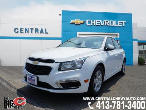 2016 Chevrolet Cruze Limited for sale in West Springfield, MA