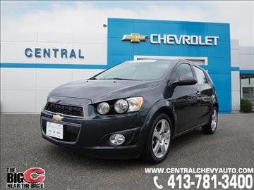 2014 Chevrolet Sonic for sale in West Springfield, MA