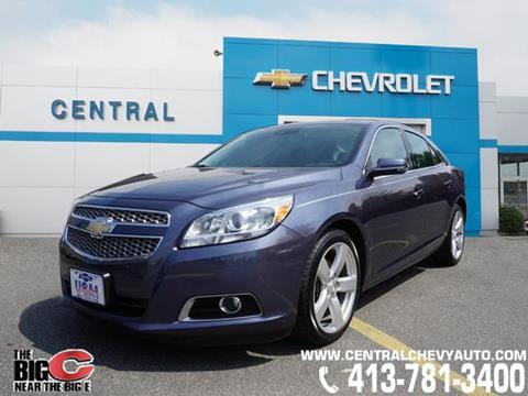 2013 Chevrolet Malibu for sale in West Springfield, MA
