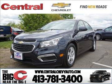2015 Chevrolet Cruze for sale in West Springfield, MA