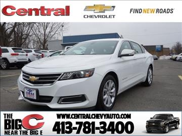 2016 Chevrolet Impala for sale in West Springfield, MA