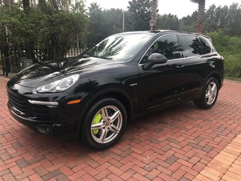 2016 Porsche Cayenne for sale in Lutz, FL