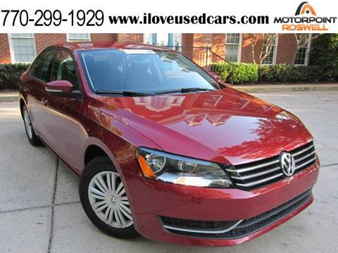 2015 Volkswagen Passat for sale in Roswell, GA