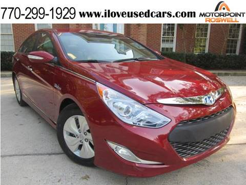 2013 Hyundai Sonata Hybrid for sale in Roswell, GA