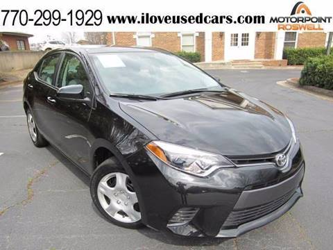 2015 Toyota Corolla for sale in Roswell, GA