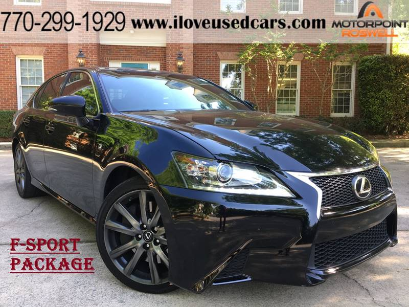 2014 Lexus GS 350 For Sale At Motorpoint Roswell In Roswell GA