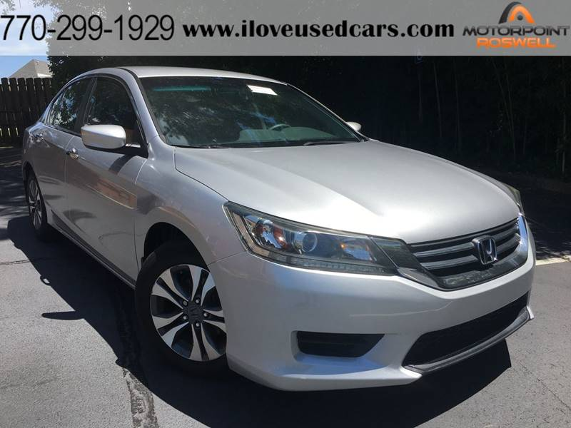 2013 Honda Accord For Sale At Motorpoint Roswell In Roswell GA