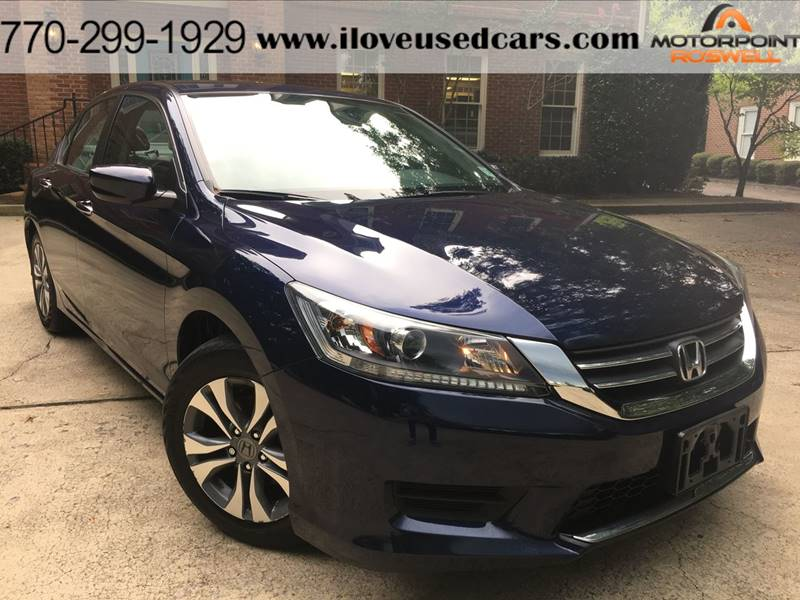 2015 Honda Accord For Sale At Motorpoint Roswell In Roswell GA