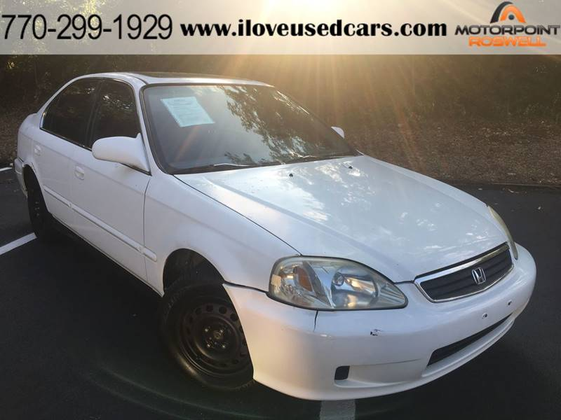 Charming 2000 Honda Civic For Sale At Motorpoint Roswell In Roswell GA