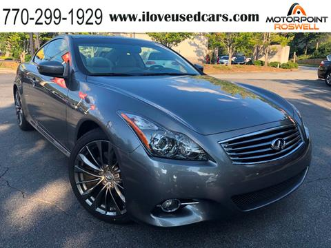 G37 Coupe For Sale >> 2013 Infiniti G37 Coupe For Sale In Roswell Ga