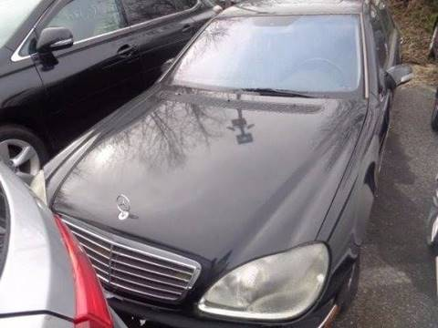 2001 Mercedes-Benz S-Class for sale in Capitol Heights, MD