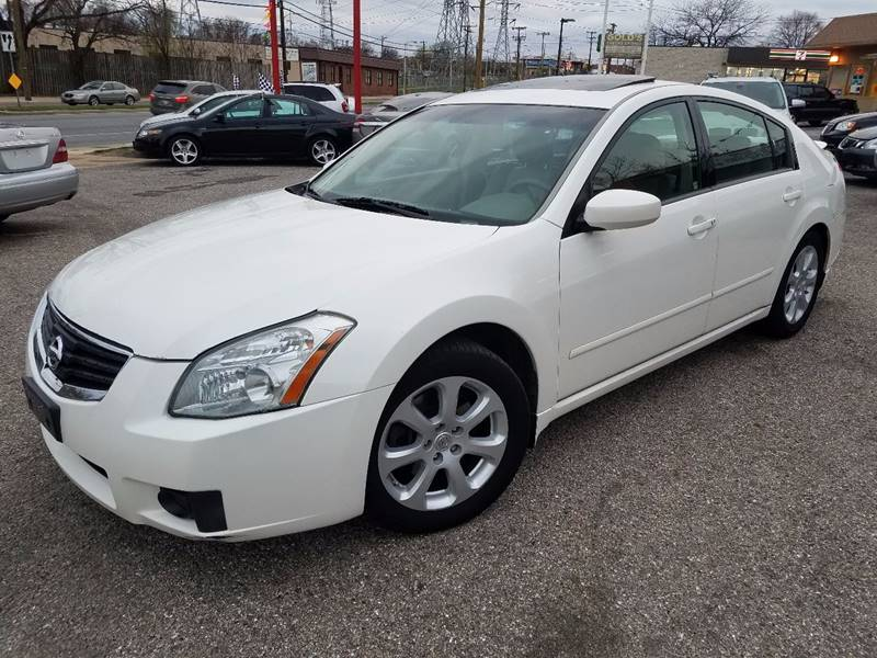 2007 Nissan Maxima 3.5 SL 4dr Sedan   Baltimore MD