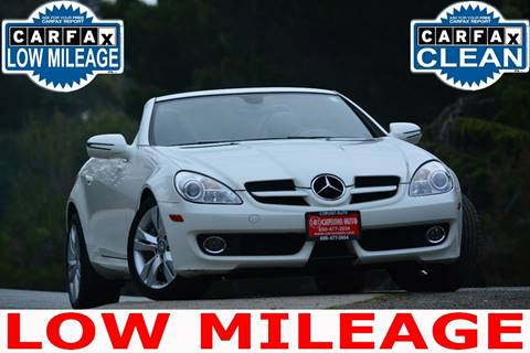 2009 Mercedes-Benz SLK for sale in San Mateo, CA
