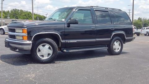 Chevy Tahoe For Sale Near Me >> 1999 Chevrolet Tahoe For Sale In Selmer Tn