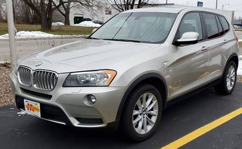 2013 BMW X3 xDrive28i for sale at ADA Motorwerks in Green Bay WI