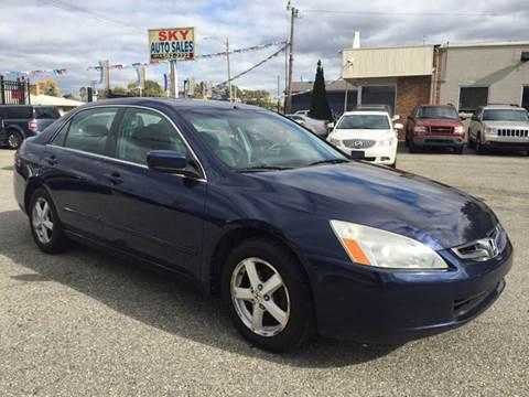 2004 Honda Accord for sale in Detroit, MI