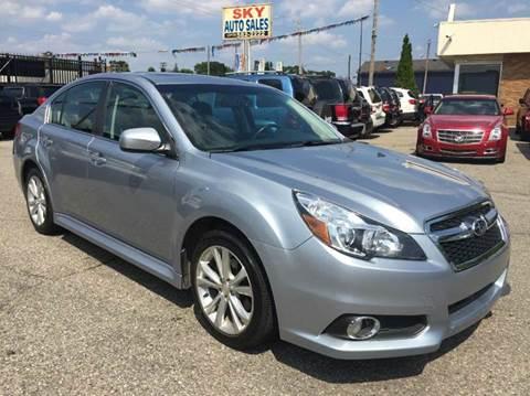 2013 Subaru Legacy for sale in Detroit, MI