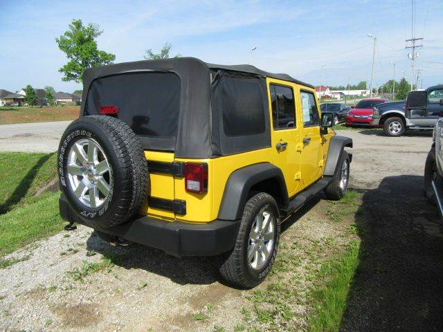 2008 Jeep Wrangler Unlimited 4x4 X 4dr SUV - Bowling Green KY