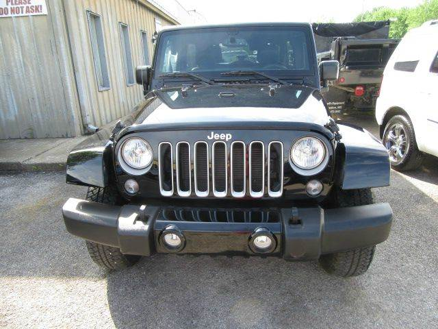 2016 Jeep Wrangler Unlimited 4x4 Sahara 4dr SUV - Bowling Green KY