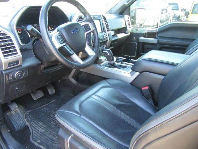 2015 Ford F-150 4x4 Platinum 4dr SuperCrew 5.5 ft. SB - Bowling Green KY
