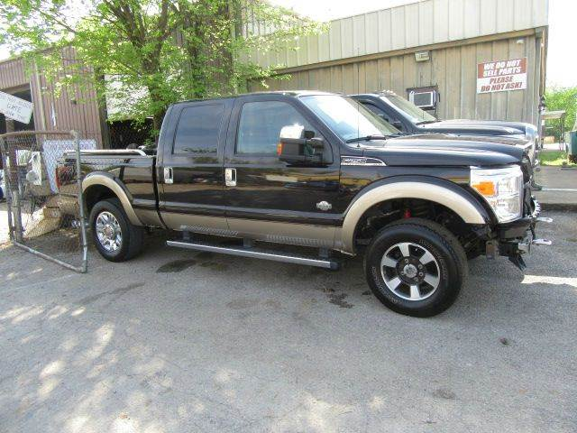 2013 Ford F-250 Super Duty 4x4 King Ranch 4dr Crew Cab 6.8 ft. SB Pickup - Bowling Green KY