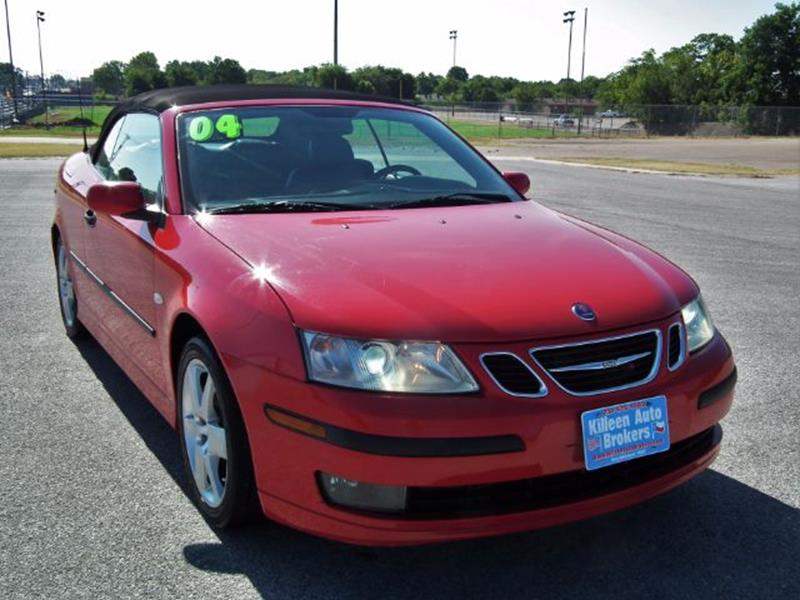 2004 saab 9 3 2dr arc turbo convertible in killeen tx. Black Bedroom Furniture Sets. Home Design Ideas