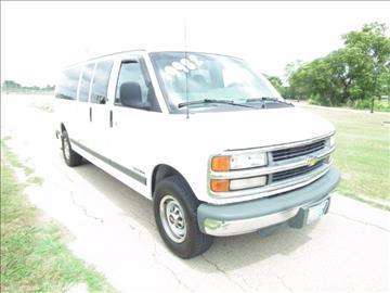 2000 Chevrolet Express Passenger for sale in Killeen, TX