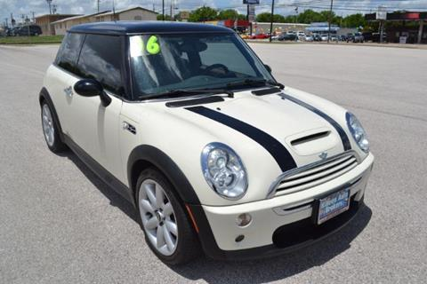 2006 mini cooper for sale in texas. Black Bedroom Furniture Sets. Home Design Ideas