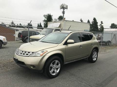 2005 Nissan Murano for sale in Puyallup, WA
