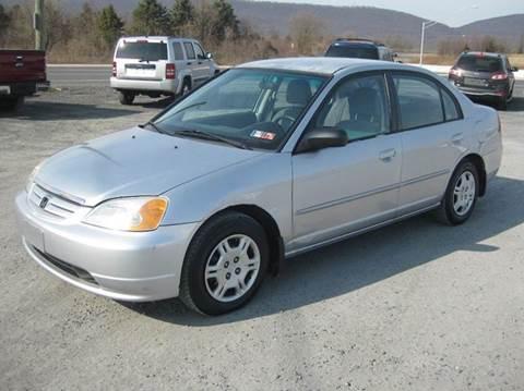 2002 Honda Civic Mpg >> 2002 Honda Civic For Sale In Wind Gap Pa