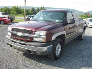 2003 Chevrolet Silverado 1500 for sale in Wind Gap, PA