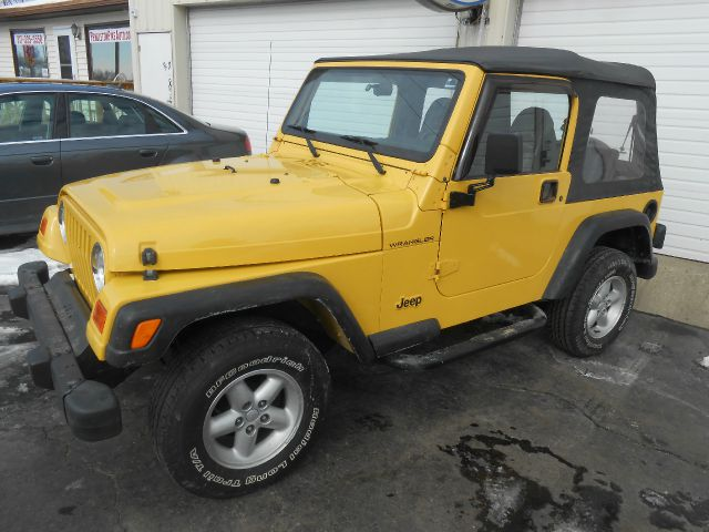 2001 Jeep Wrangler Unlimited