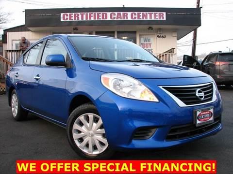 2012 Nissan Versa for sale in Fairfax, VA