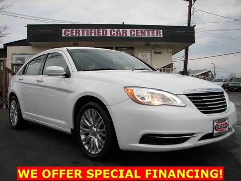 2012 Chrysler 200 for sale in Fairfax, VA