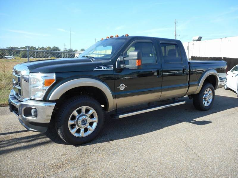 2012 Ford F 350 Super Duty 4x4 Lariat 4dr Crew Cab 6 8 Ft