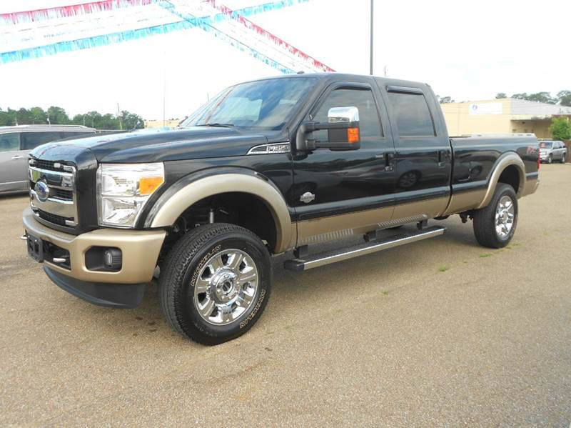 2013 Ford F 350 Super Duty 4x4 King Ranch 4dr Crew Cab 8 Ft Lb Srw Pickup In Hattiesburg Ms