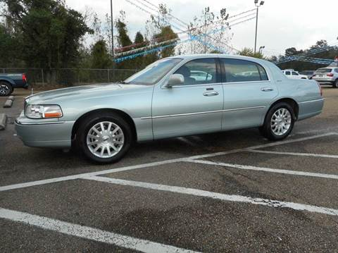 2007 Lincoln Town Car for sale in Hattiesburg, MS