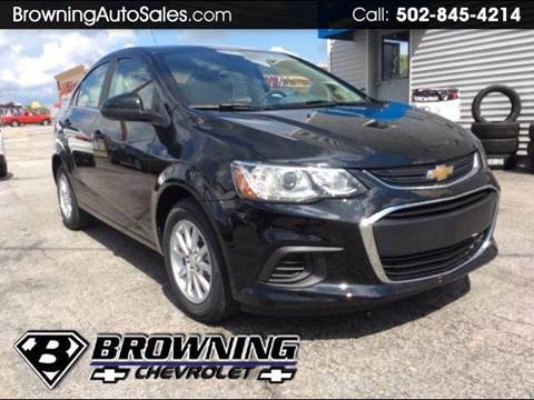 2018 Chevrolet Sonic for sale in Eminence, KY