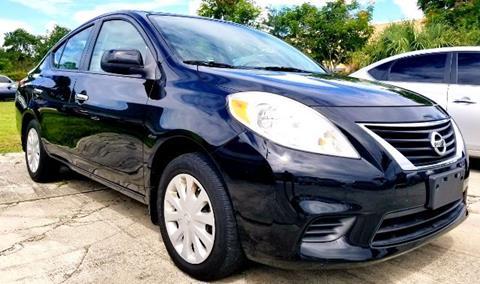 2012 Nissan Versa for sale in Port Saint Lucie, FL