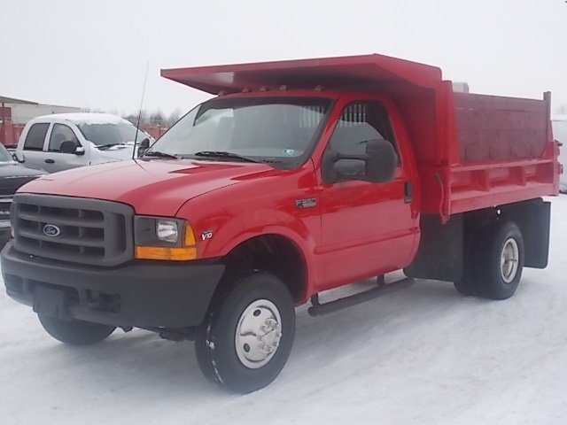2000 ford f 350 xl dump truck 4wd drw canton oh. Black Bedroom Furniture Sets. Home Design Ideas