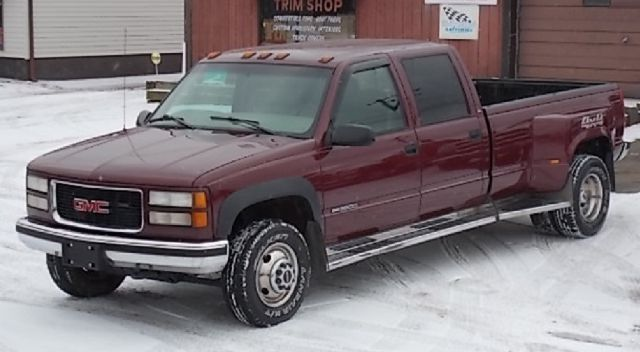 1999 gmc sierra 3500 crew cab long bed 4wd dually canton oh. Black Bedroom Furniture Sets. Home Design Ideas