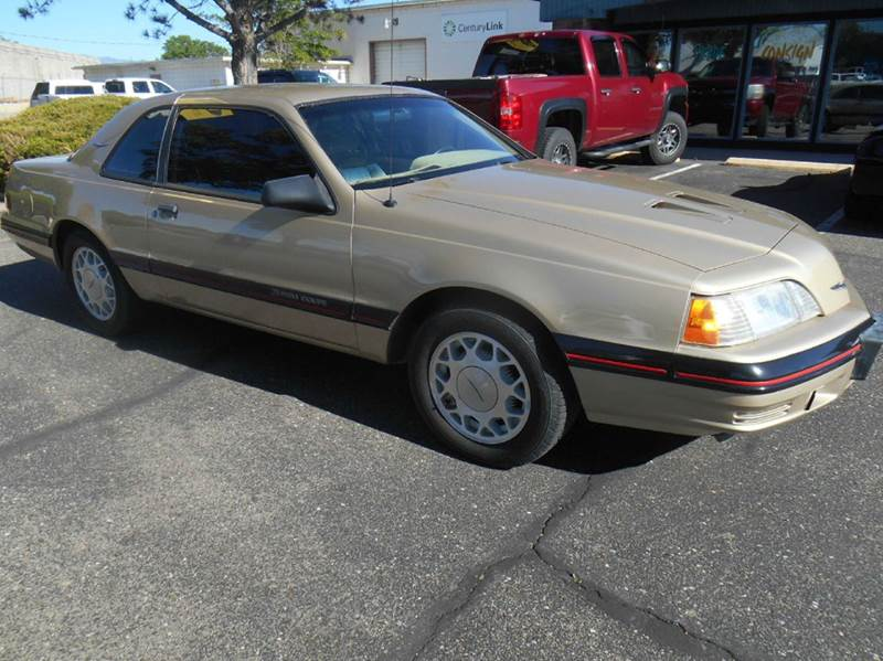 1987 Ford Thunderbird Turbo 2dr Coupe - Loveland CO