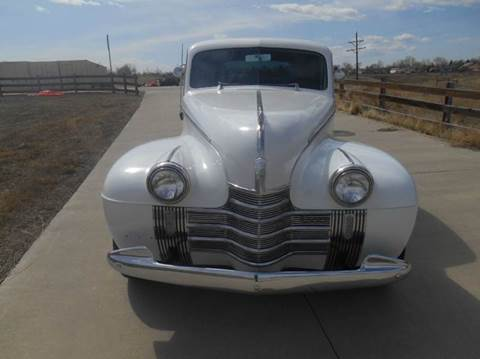 1940 Oldsmobile coupe
