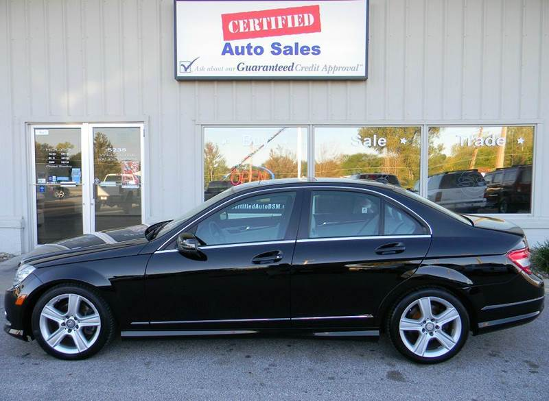 2010 mercedes benz c class c300 luxury 4matic awd 4dr for Des moines mercedes benz